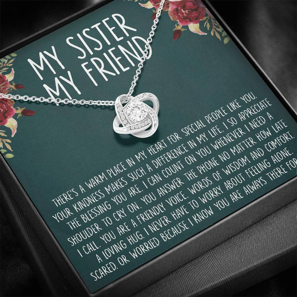 Sister Necklace, Sisters necklace, sister gift, gift for sister, big sister, giggles, secrets