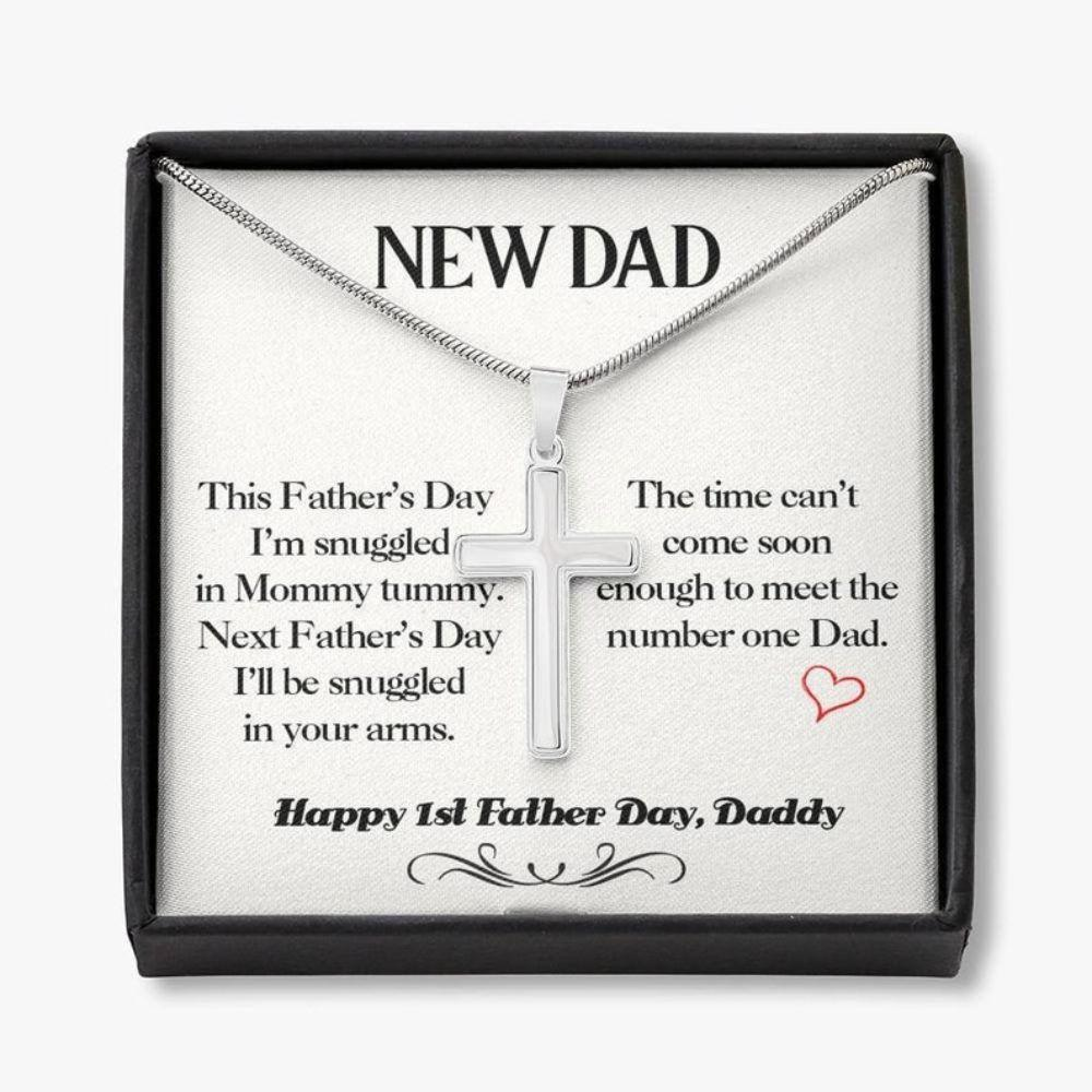 Dad Necklace, Father's Day Gift For New Dad, Dad To Be Gift, Gifts For Expectant Dad, For Future Dad Gift, First Fathers Day Necklace