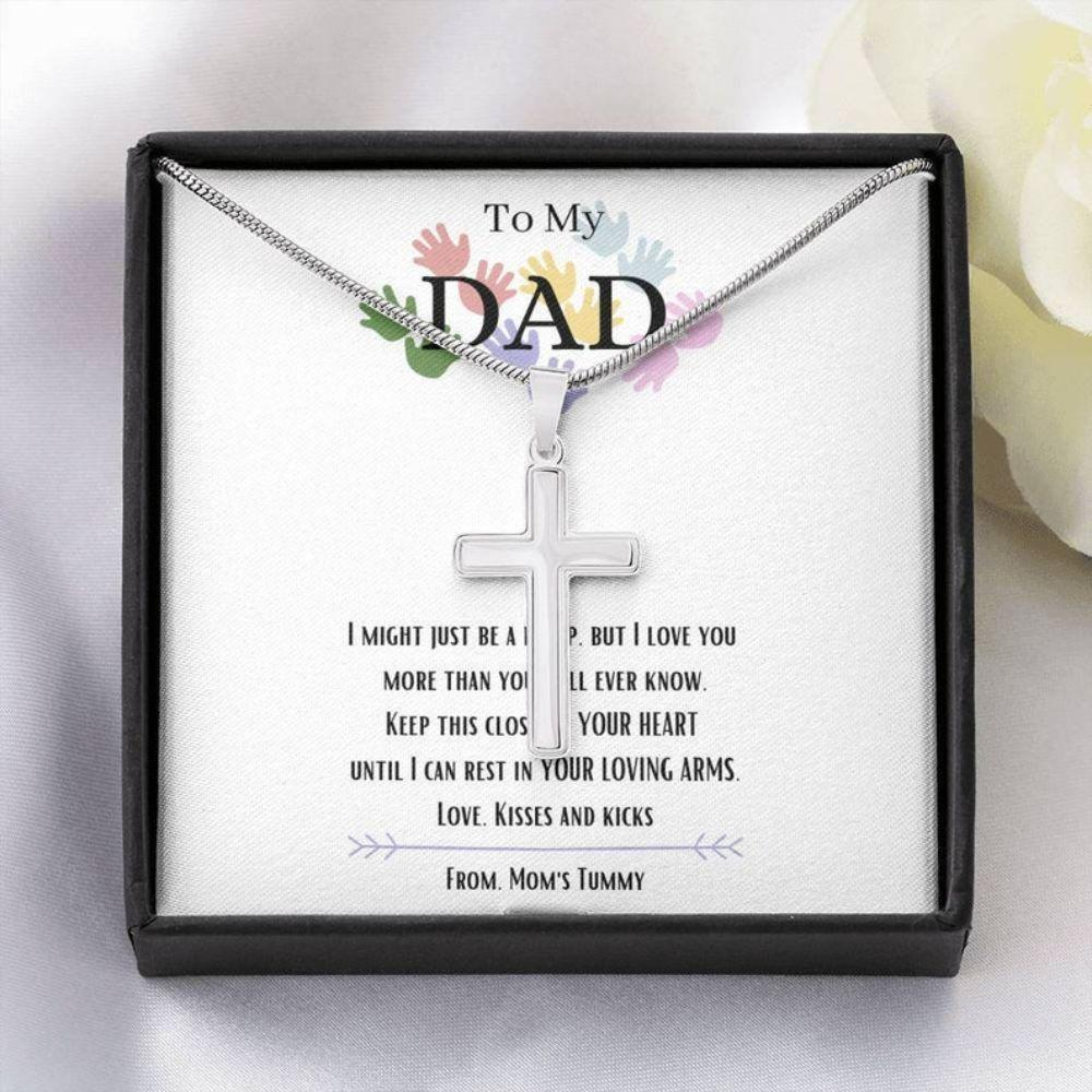 Dad Necklace, Father's Day Gift, Gift For New Dad, Dad To Be Necklace, Gifts For Expectant Dad, For Future Dad Gift
