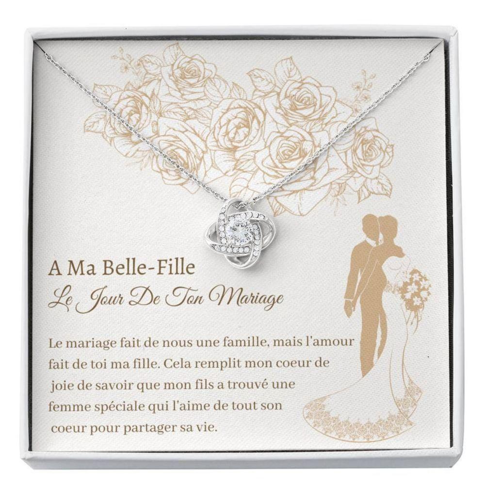 Daughter-in-law Necklace, Belle-Fille Mirage - Daughter In Law Bride Wedding Gift - Cadeau La Mari�e - Belle-Fille Necklace