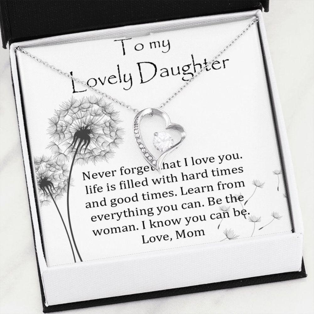 Daughter Necklace, Daughter Gift From Mom, Mother Daughter Necklace, Grown Daughter Gift, Gift For Daughter