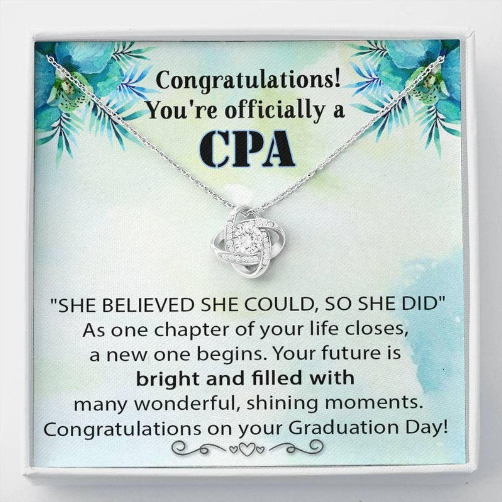 Friend Necklace, CPA Graduation Gift, Graduation Gift For Accountant, CPA Necklace, Certified Public Accountant Gift, CPA Exam Pass Gift