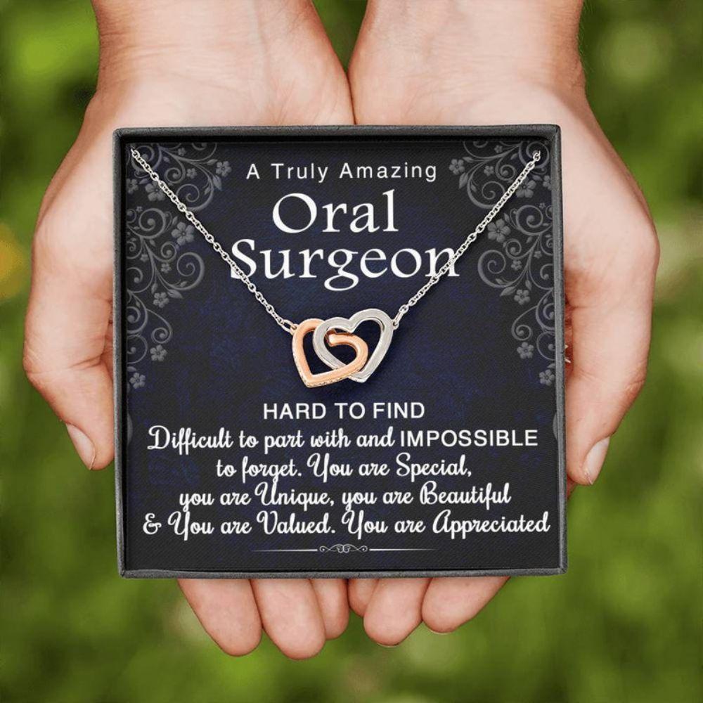 Friend Necklace, Oral Surgeon Gift, Oral Surgeon Necklace, Appreciation Gift For Oral Surgeon, Retirement Gift For Oral Surgeon