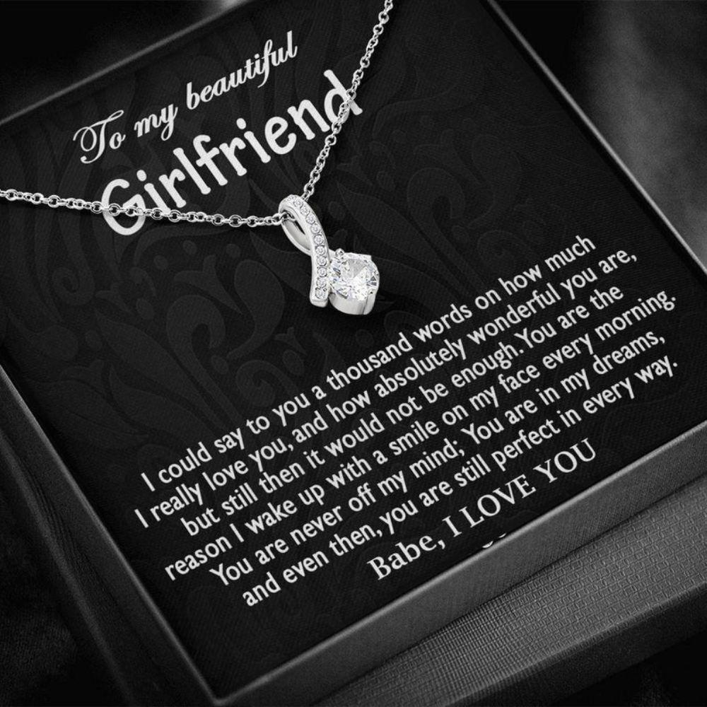 Girlfriend Necklace, Anniversary Necklace Gift For Her, Valentine Day Gift, Girlfriend Gift, Gift For Girlfriend, Necklace For Her