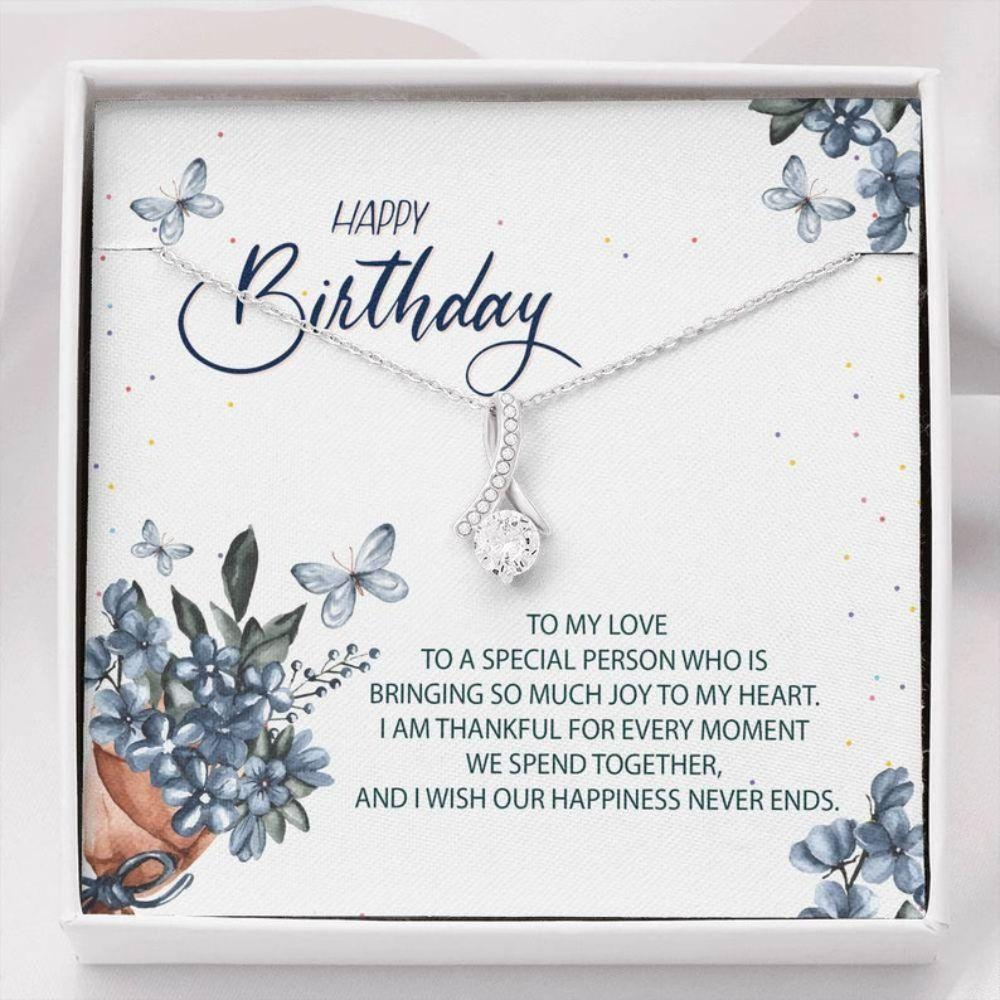 Girlfriend Necklace, Birthday Necklace Gifts For Her , Girlfriend Gifts Birthday, Alluring Necklace Gifts, Birthday Wife Gift