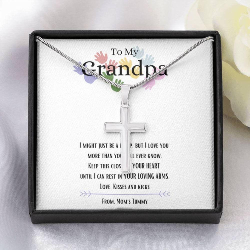 Grandfather Necklace , To My Grandpa, New Grandpa Gift, Grandpa To Be, Gifts For Expectant Grandfather, Future Grandpa