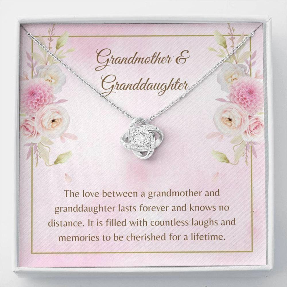 Grandmother Necklace, Grandma Necklace - Granddaughter Gift - Family Necklaces - Grandmother Keepsake - Sentimental Memories