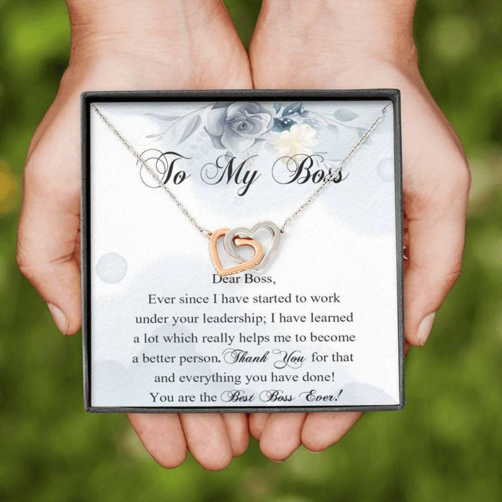 Lady Boss Necklace, Gift For Boss Female, Best Boss Gift, Necklace For Boss, Valentine's Gift For Female Boss, Boss Leave Gift, Boss Gift