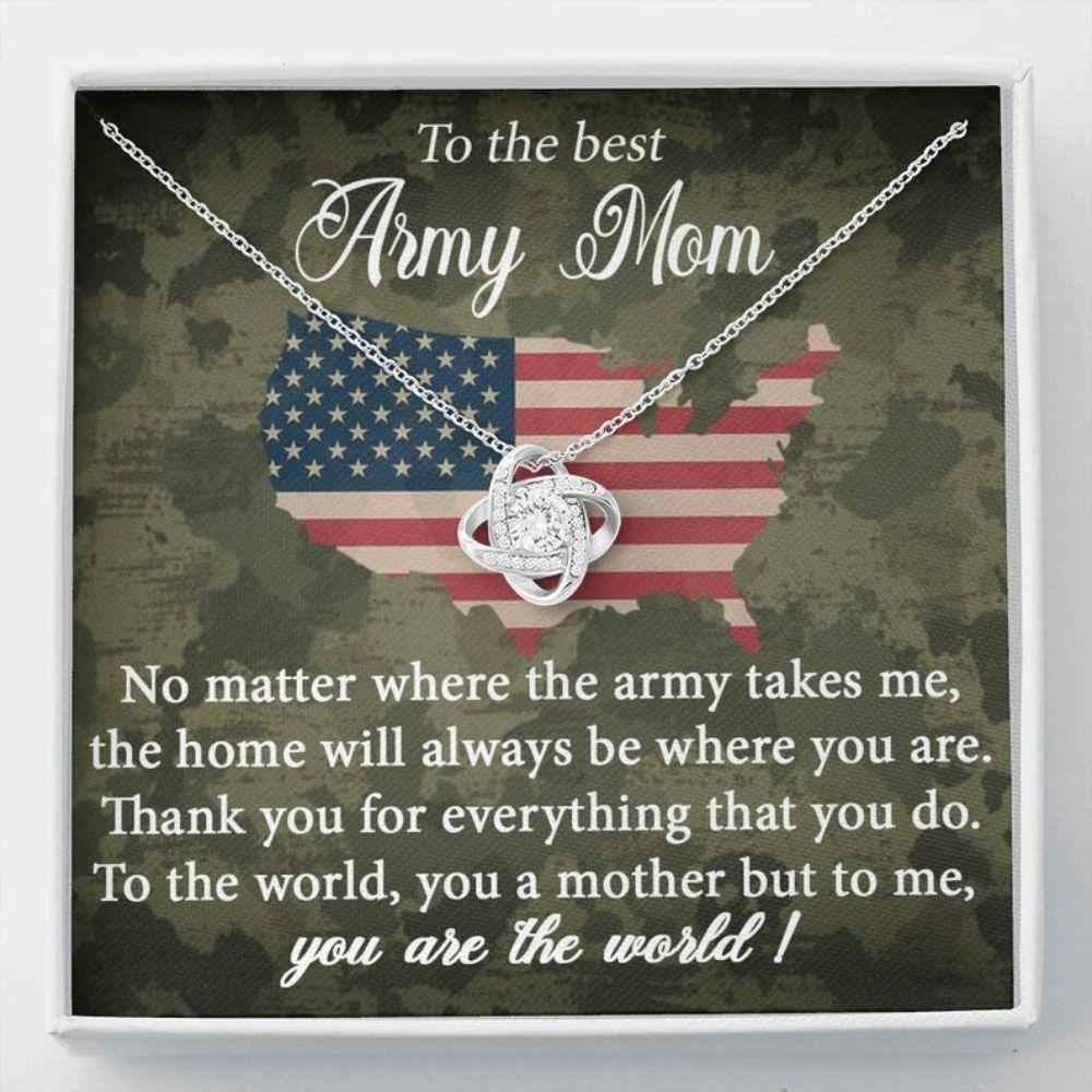 Mom Necklace, Army Mom Necklace, Gift Military Mom, Deployment Gift For Mom, Military Jewelry, Army Necklace For Mom, Army Mom Gifts