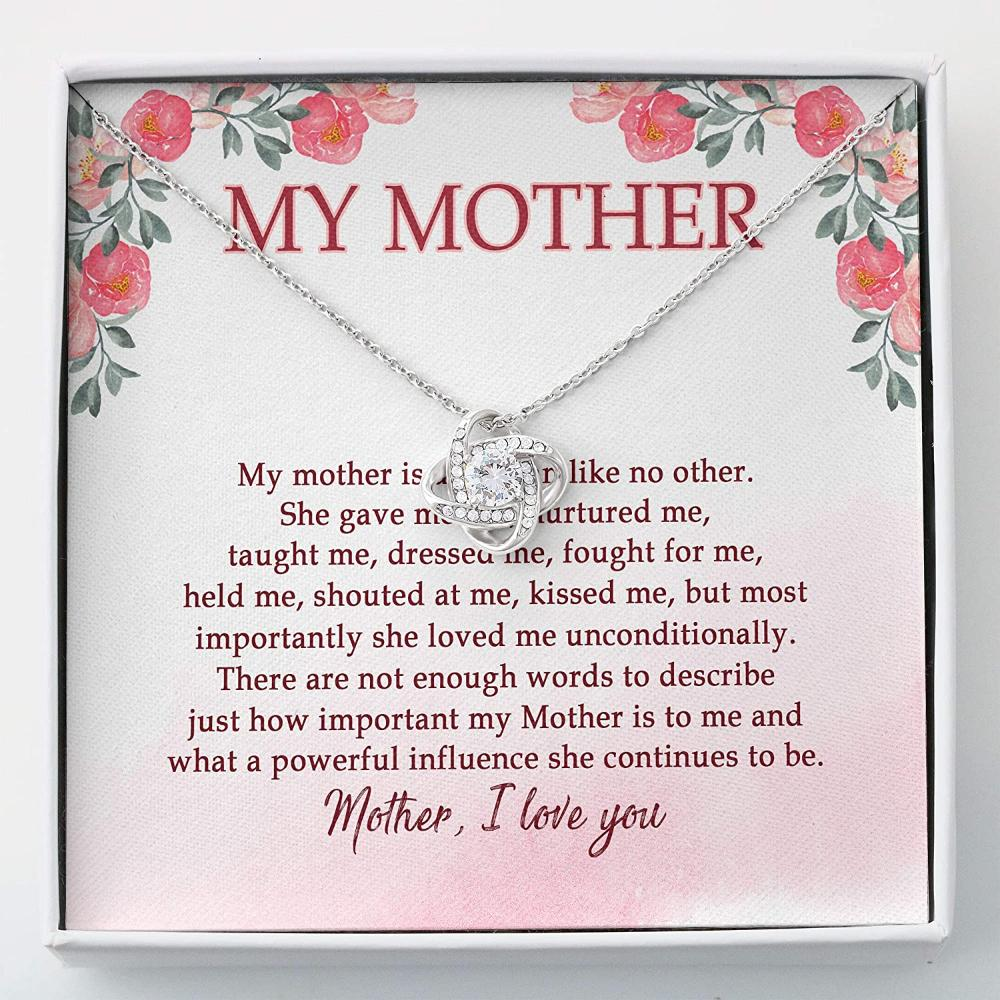 Mom Necklace, Daughter Necklace, Mother Necklace - Mothers And Daughters Necklace