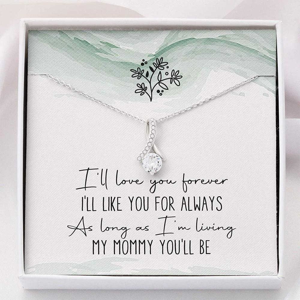 Mom Necklace Gift - Necklace For Mom Mothers Day Christmas