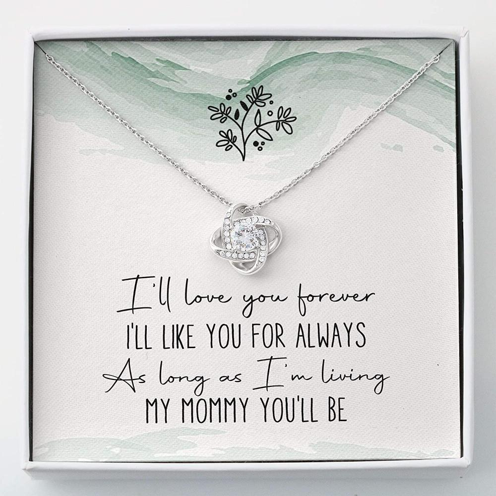 Mom Necklace, Mommy Necklace Gift - Necklace For Mom