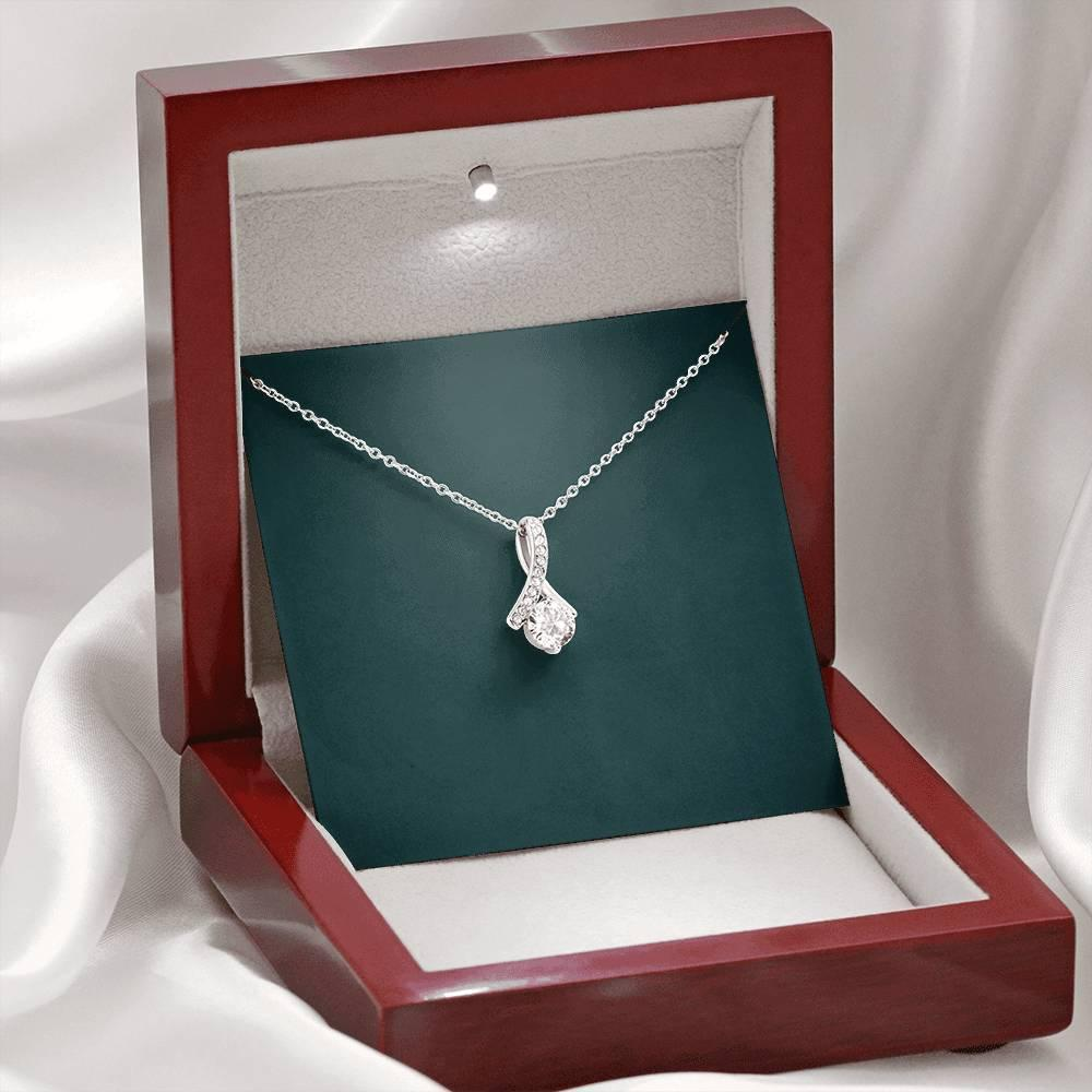 Mom Necklace, To My Mom Necklace From Son Daughter Gift Mother Day