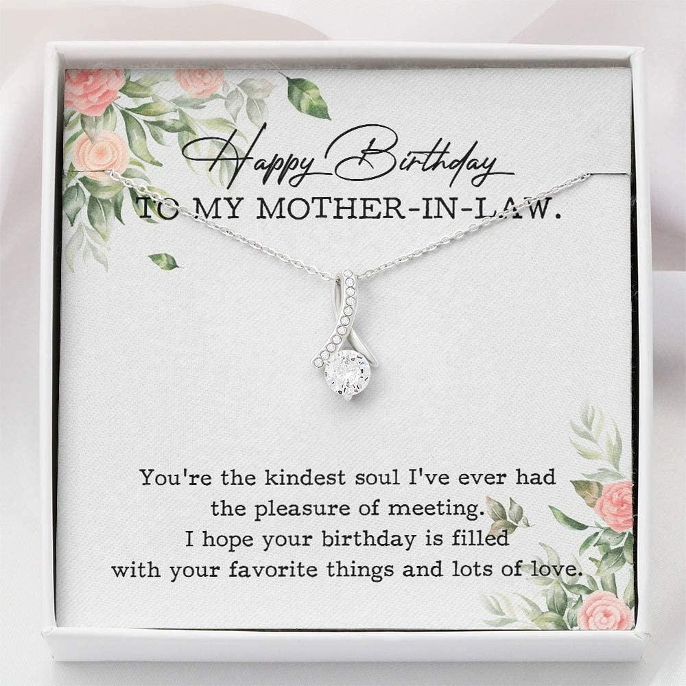 Mother-in-Law Necklace - Birthday Gift For Mother-in-Law