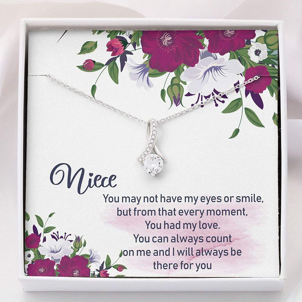 Niece Necklace Gifts - To My Niece Necklace - Necklace With Gift Box