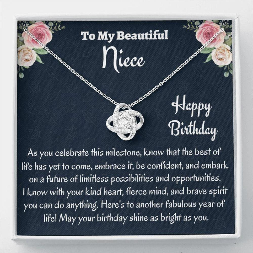 Niece Necklace, Niece Birthday Gift, Necklace, Gift For Niece From Aunt, Birthday Gift, Uncle To Niece Gift