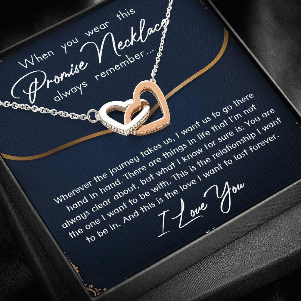 Girlfriend Necklace, Future Wife Necklace, Promise Necklace For Girlfriend From Boyfriend, For Couples, Promise Necklace For Her