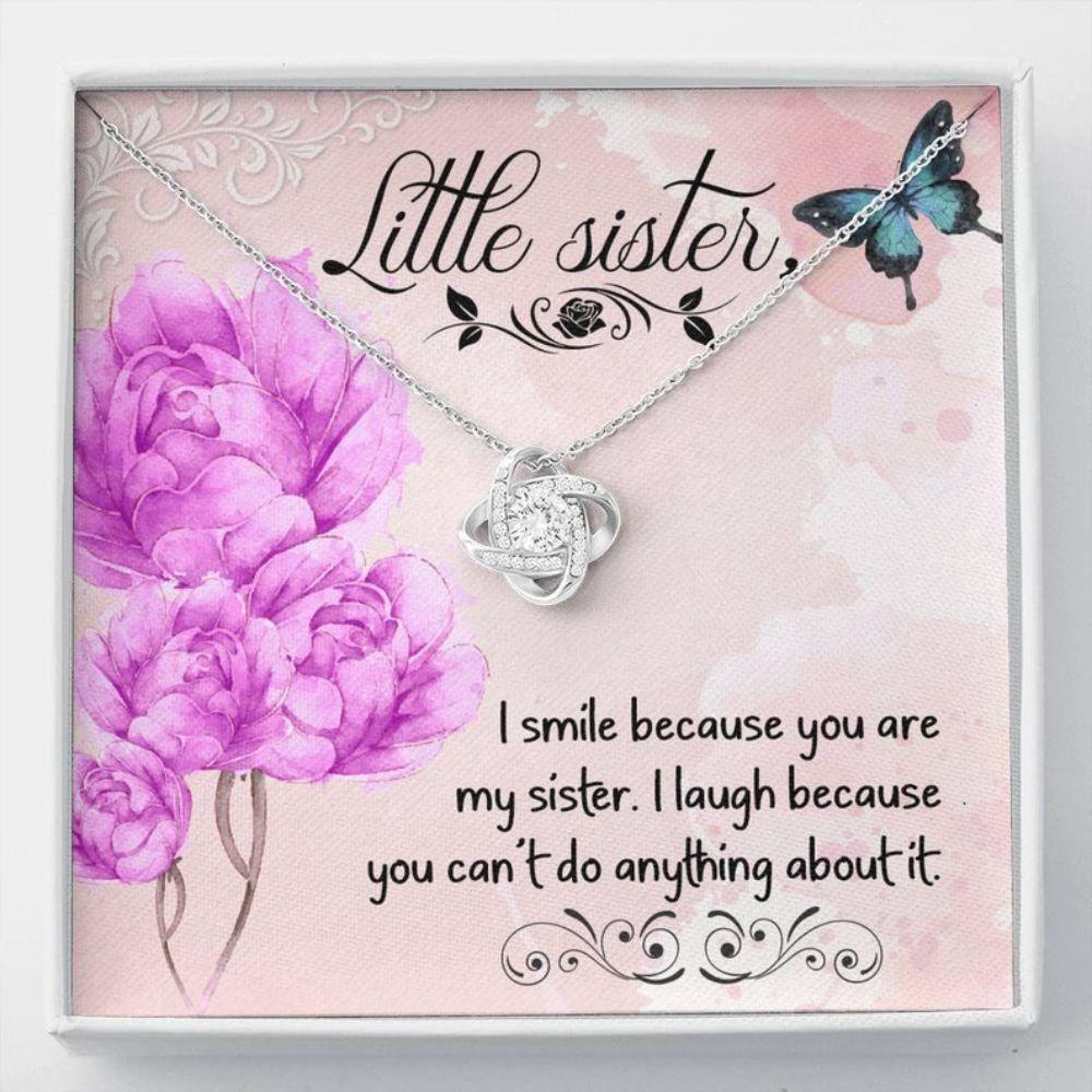 Sister Necklace, Gift For Sister, Sisters Gift, Little Sister Necklace, Sister Birthday Gift