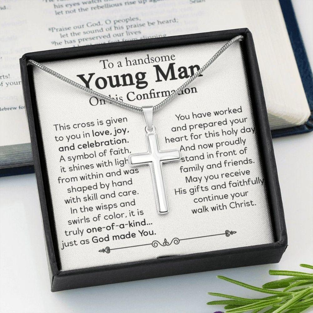 Son Necklace, Confirmation Gifts For Boys, Catholic Confirmation Gifts For Boy, Confirmation Gifts For Teen Boys, Religious Gift For Men