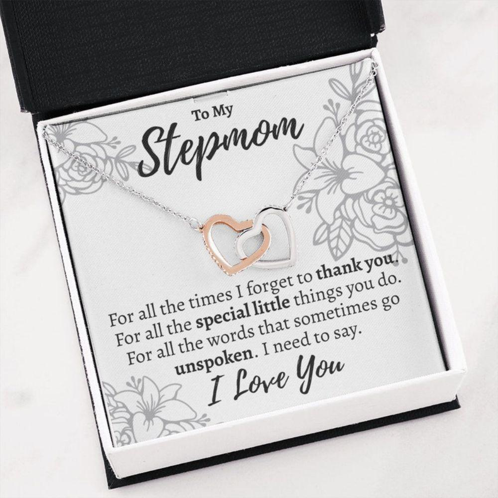 Stepmom Necklace, Stepmom Gift, Gift For A Stepmom, Gift For Stepmom, Gift For Stepmother, Bonus Mom Necklace