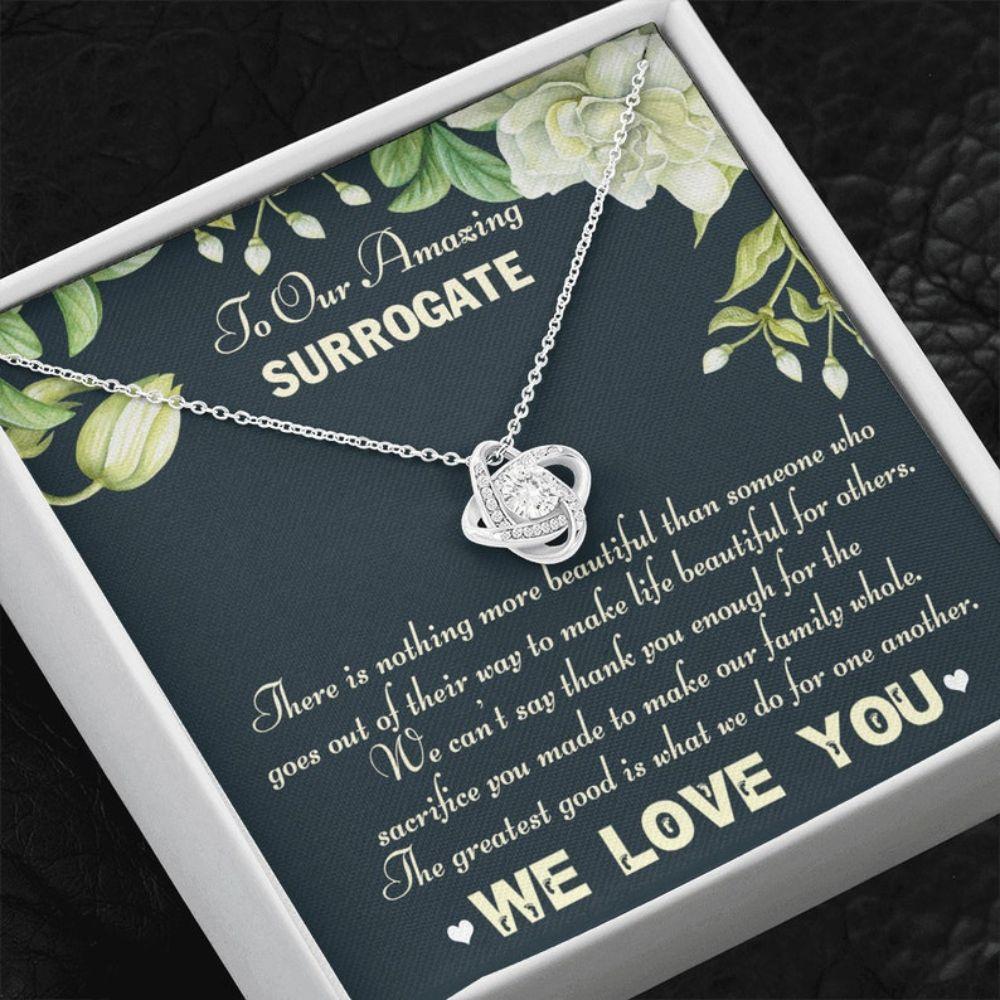 Surrogate Necklace, Gift For Surrogate, Surrogate Thank You Gift, Surrogate Pregnancy Appreciation Gift, Surrogate Transfer Day Gift