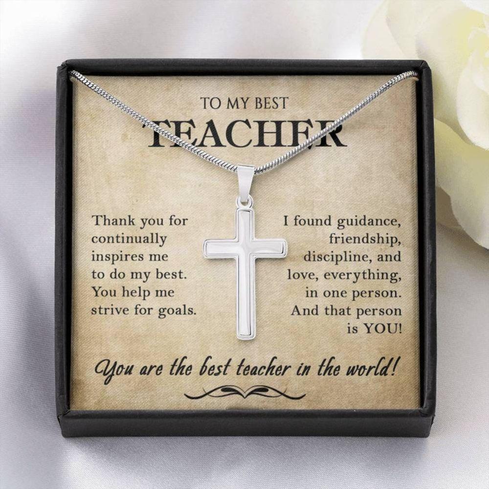 Teacher Necklace, Gift For Teacher, Teacher, Professor, Tutor, Thank You Gifts For Teacher